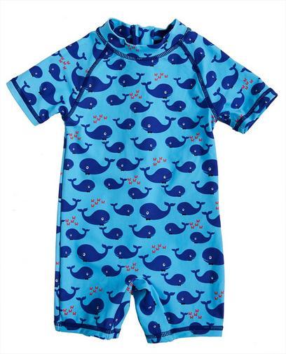 Blauer Badeanzug